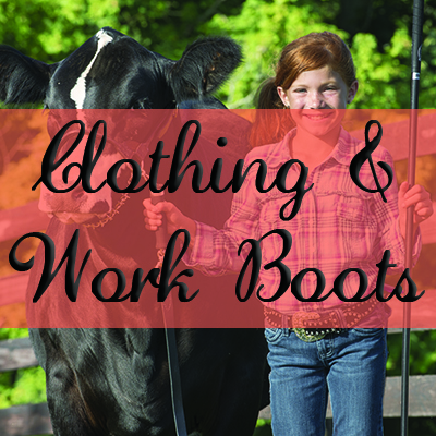 Clothing & Work Boots