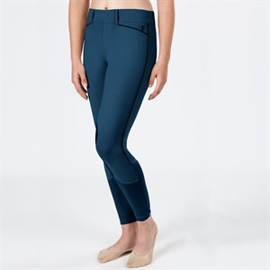Pantalon Genoux Renforcés Irideon Hampshire pour Femme - Twilight & Noir