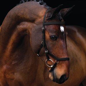 Bride Horseware Rambo Micklem ''Original Competition'' avec Rênes - Noir
