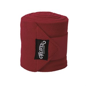 Bandages Polo Weaver - Rouge