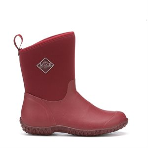 Bottes Muck ''Muckster II Mid'' pour Femme - Rouge