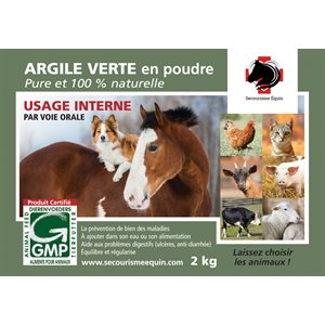 Green Clay for Internal Use 2kg