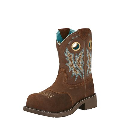 Botte Western Ariat ''Fatbaby Cowgirl Composite Toe'' pour Femme