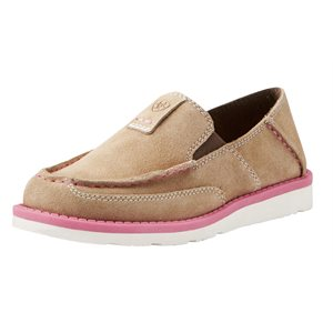 Ariat Kid's Cruiser Shoes - Dirty Taupe Suede