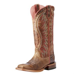 Ariat Ladies ''Vaquera'' Western Boots - Dusted Wheat
