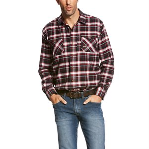 Ariat Men's ''Rebar'' Work Shirt - Jesse Plaid