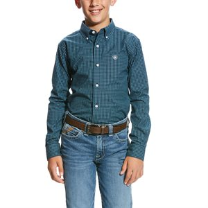 Ariat Boy's ''Pro Series Vicini'' Shirt