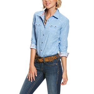 Ariat Ladies ''REAL Lucky'' Snap Shirt