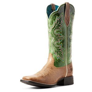 Botte Western Ariat ''Breakout'' pour Femme - Treetop Green