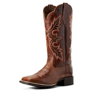 Botte Western Ariat ''Breakout'' pour Femme - Rustic Brown