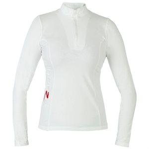 Chandail de Concours Horze pour Femmes - Blanc