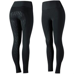 Pantalon Fond Silicone Horze ''Belinda'' pour Femme - Noir