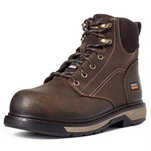 "Ariat Ladies Riveter 6"" CSA Waterproof Composite Toe Work Boot"