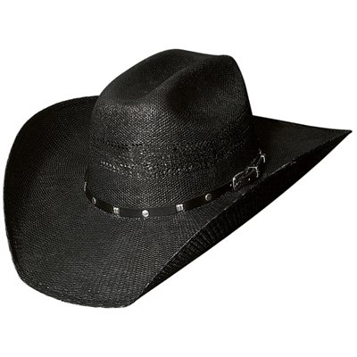 Bullhide Black Arrow 20X Straw Cowboy Hat