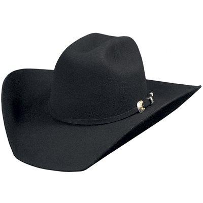 Bullhide Kingman 4X Felt Cowboy Hat - Black