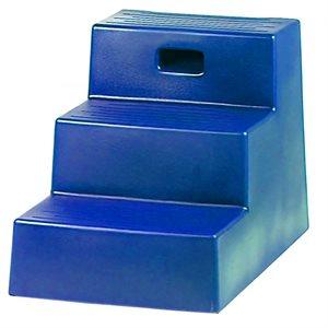 Horsemen's Pride 3 Step Mounting Block - Blue